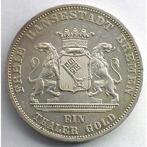 Gedenktaler   1871 B    SUP