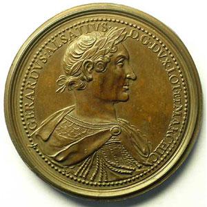 Gérard d'Alsace   bronze   47 mm    TTB/TTB+