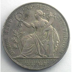 Geschichtstaler   1871    TTB