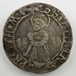 Gros au Saint-Etienne agenouillé (1540 - 1646)    TB+/TTB
