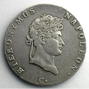 Gulden   1811 C  (Cassel)    TB+