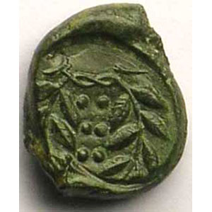 Hémilitron de bronze   (420-408 av.JC)    TTB/TTB+