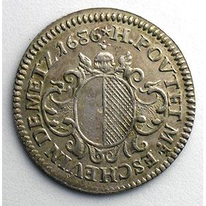 Henri-François Poutet   (1683-1688)   1686   argent    TTB+