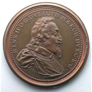 Henri II   bronze   47 mm    SUP