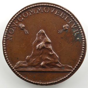 Innocent VII (1404-1406)   médaille de restitution des Papes par Ferdinand de Saint-Urbain   bronze   41mm    SUP
