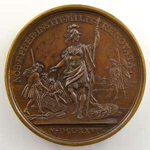 J. Duvivier/M. Rög   Rétablissement des Compagnies de Cadets   bronze   41mm    SUP/FDC