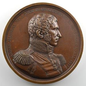 Jaley   André Masséna   Médaille en bronze  68mm    SUP