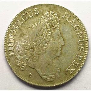 Jeton en argent   Louis XIV   1700    TTB