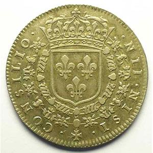 Jeton rond en argent   1660    TTB
