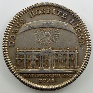jeton rond en argent   29mm   Louis XV   1721    TTB