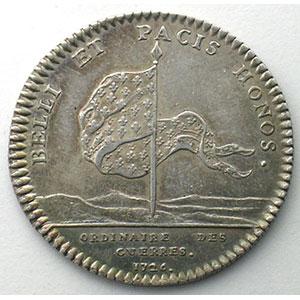 jeton rond en argent  29mm   Louis XV   1726    TTB
