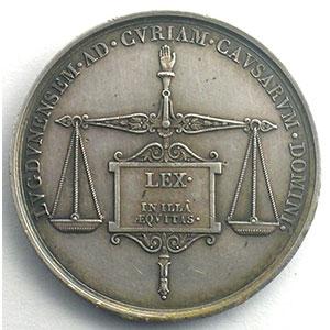 Jeton rond en argent   32mm   Lyon   1823    TTB+/SUP