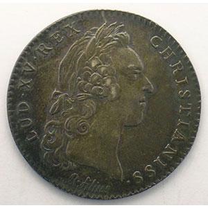 jeton rond en argent   Louis XV   1731    TTB+/SUP