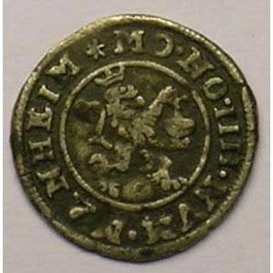 KM 10   4 Pfennig (1/2 Albus)   1608    TB+
