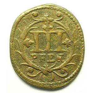KM 31   3 Pfennig   1741    TB+/TTB