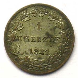 KM 312   Kreuzer   1841    SUP