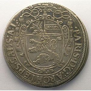 KM 61   Thaler   Paris von Lodron (1619-1653)   1623    TTB/TTB+