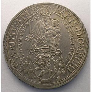 KM 87   Thaler   Paris von Lodron (1619-1653)   1624    TTB/TTB+
