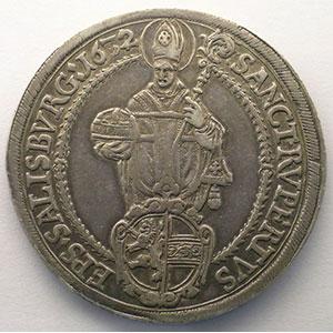 KM 87   Thaler   Paris von Lodron (1619-1653)   1632    TTB+