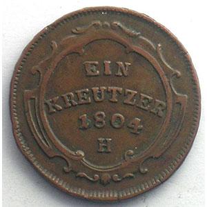 Kreutzer   François II (1792-1805)   1804 H  (Günzburg)    TTB