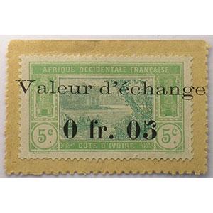 Lec.1   0fr05  valeur d'échange   (1920)    SUP