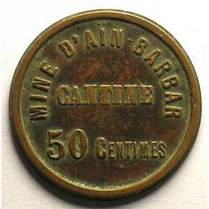 Lec.106 var   50 Centimes    TTB