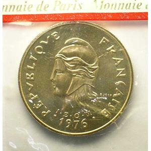 Lec.129   100 Francs   1976 Essai    FDC