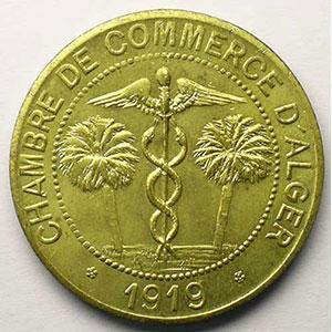 Lec.141   10 Centimes   1919 (Essai) laiton    FDC