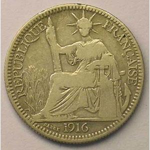 Lec.154   10 Cent   1916 A    TB