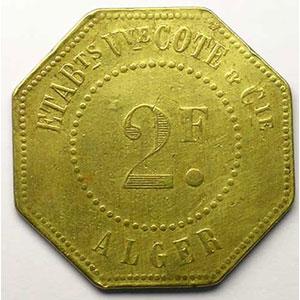 Lec.165   2 Francs    TB+