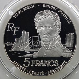 Lec.2   5 Francs Albatros   1992    BE