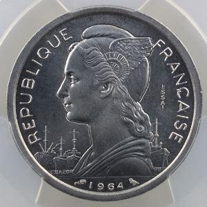 Lec.34   2 Francs   1964 Essai    PCGS-SP66    FDC