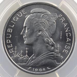 Lec.36   5 Francs   1964 Essai    PCGS-SP66    FDC