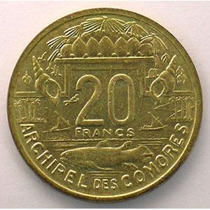 Lec.40   20 Francs   1964 Essai    FDC