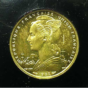Lec.46   20 Francs 1952 Essai    FDC