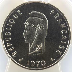 Lec.67   50 Francs   1970 Essai    PCGS-SP69    FDC exceptionnel