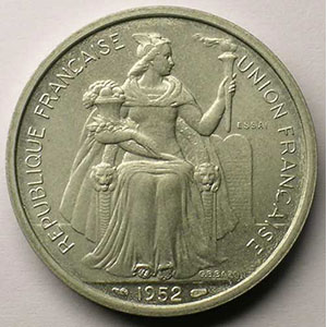 Lec.70   5 Francs   1952 Essai    SUP