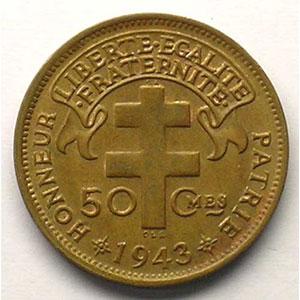 Lec.9   50 Cent.   1943 Prétoria    SUP