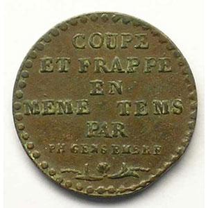 LIBERTE L'AN 5  (1797)  bronze    TTB