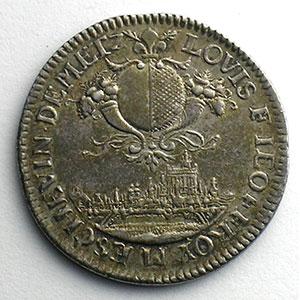 Louis-François Jeoffroy   (1690-1692)   1690   argent    TTB+