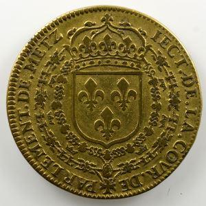 Louis XIII   Parlement de Metz      jeton en cuivre   1641    TB+
