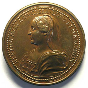 Mathieu I   bronze   46 mm    SUP