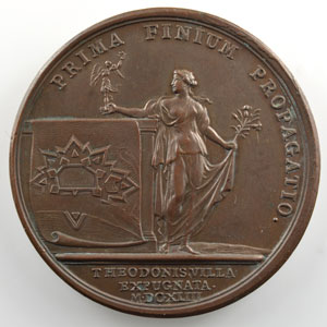 MAUGER/J.-B. Dufour   Prise de Thionville   bronze   41mm    TTB+