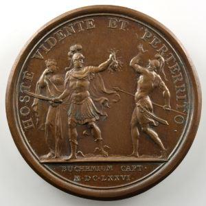 MAUGER   Prise de Bouchain   bronze   41mm    SUP/FDC