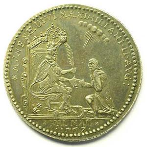Médaille en argent   34mm   100° anniversaire de la fondation de l'Académie 1567-1667    SUP