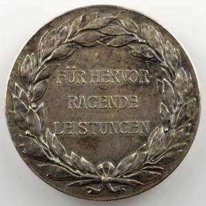 Médaille en argent  40mm   Exposition internationale   Metz   1904    SUP