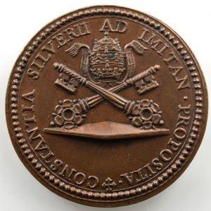 Médaille en bronze   33mm   1667    SUP/FDC