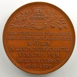 Médaille en cuivre   50mm   1840-1890    SUP