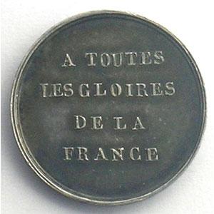 Médaillette en argent  17mm   Musée Historique   1837    SUP