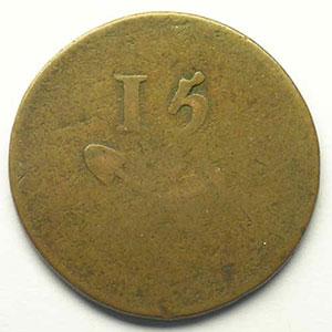 Mine de Litry    15 (sous)     B/ TB